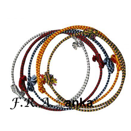FRA Nyakkarika 'Anka', állítható, drót mervítéses pamut, 7féle színnel rendelhető