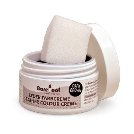 BF Barefoot BARNA bőrápoló színezett krém (sima és nubuk bőrre)