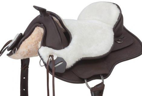 Barefoot nyergekhez bárányszőr ülés, natúr