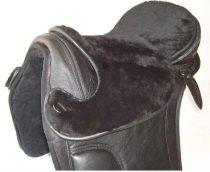 Barefoot nyergekhez bárányszőr ülés, fekete