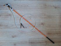 Répabot csapóval (avagy Parelli pálca, Carrot stick)